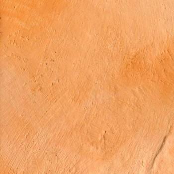 オレンジピンクの西洋漆喰